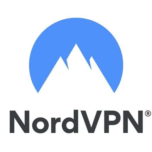 nordvpn logo blanc