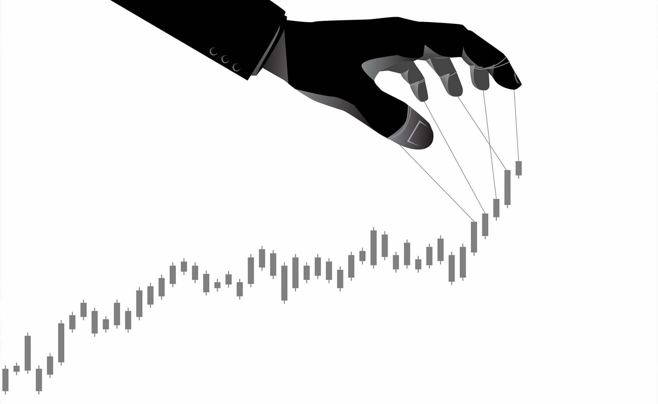 Manipulation-du-marche-cryptomonnaies