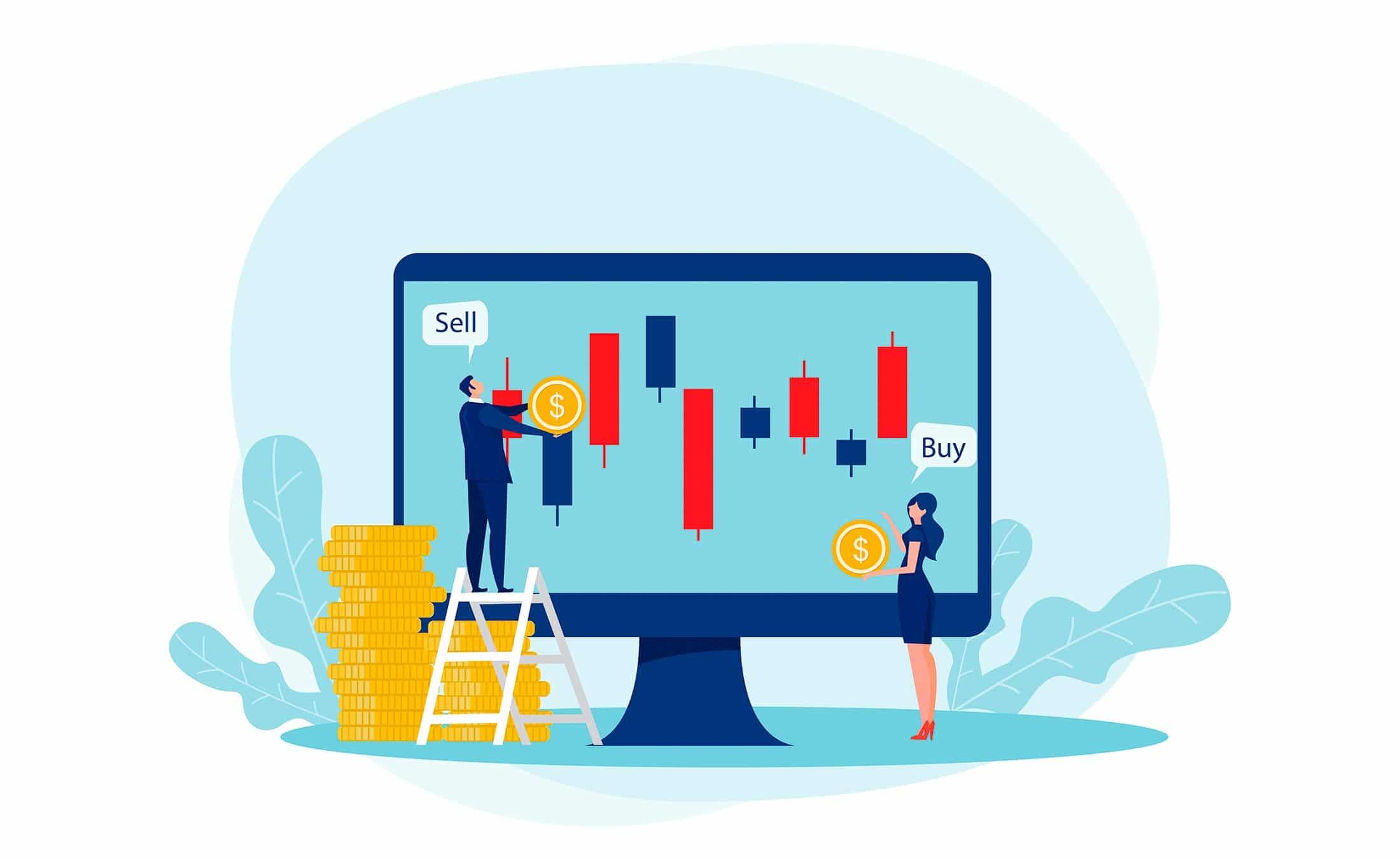 Trading-au-comptant-et-le-trading-de-contrats-à-terme